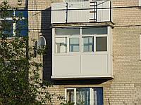 Металопластиковий балкон