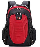 Рюкзак ортопедический молодежный Swissgear 7611 красный, фото 1