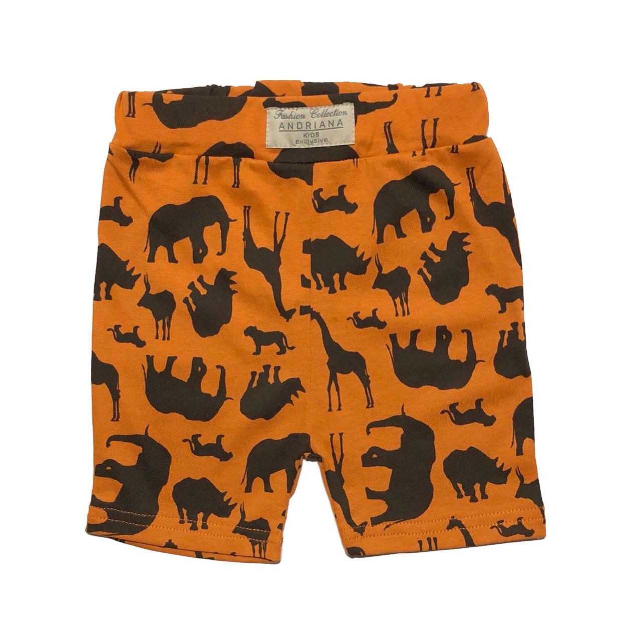 Летние шорты для мальчика Andriana Kids Сафари