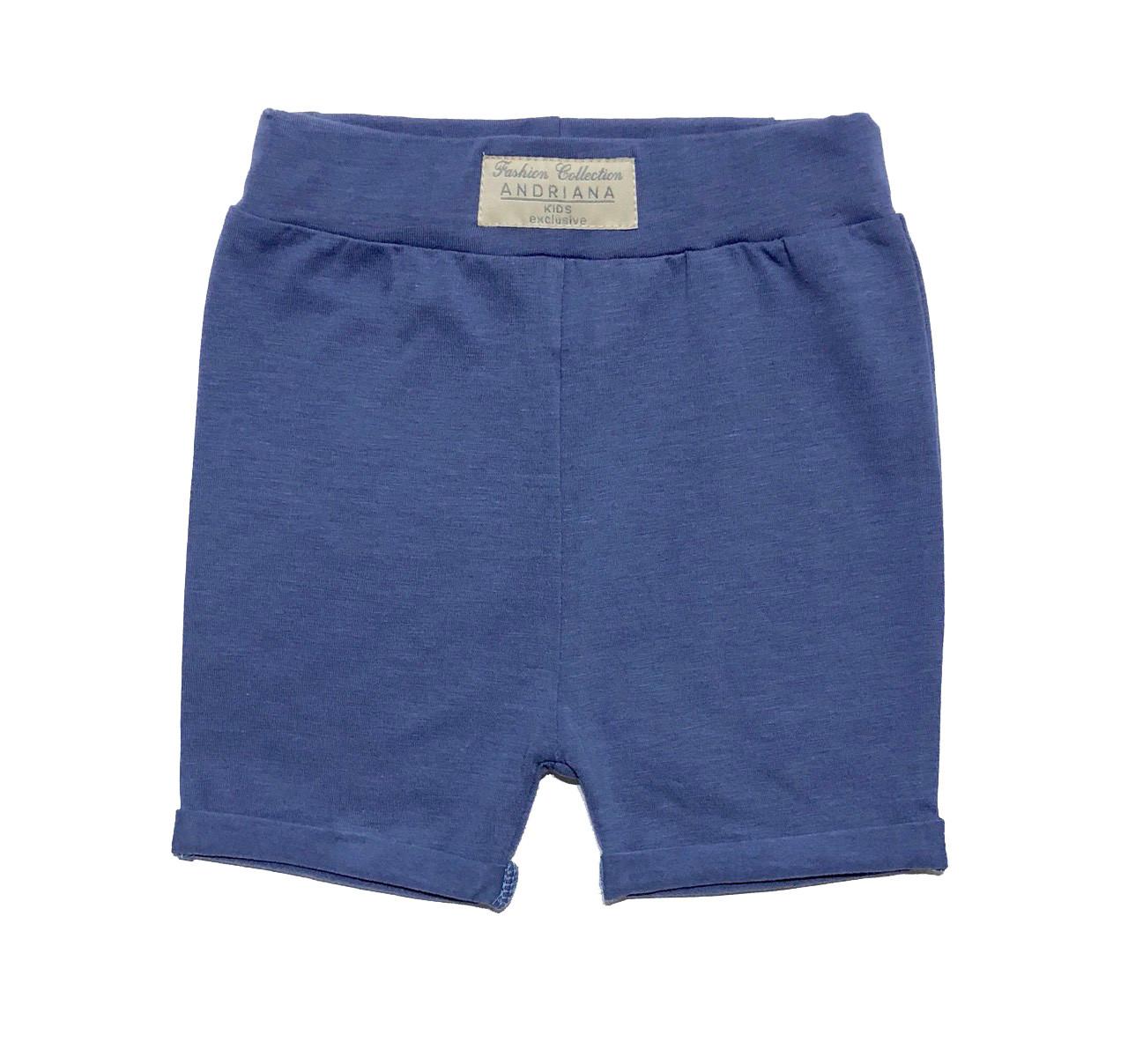Летние шорты для мальчика Andriana Kids синие