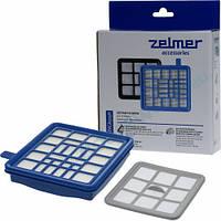 Набор фильтров HEPA H13 для пылесосов Zelmer Eco Power и Quigo AVC3100200.00 (ZVCA315H)