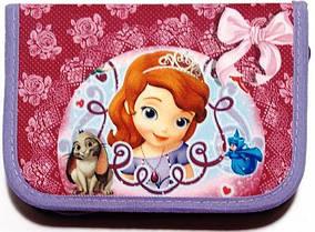 Пенал твердий одне відділення з двома клапанами Smile для дівчинки, дизайни на вибір Софія