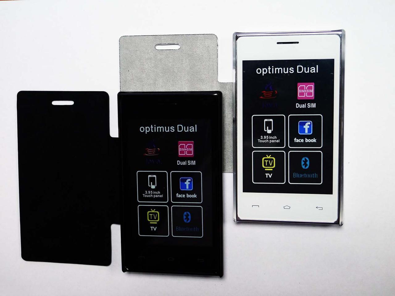 """Смартфон Samsung 615E - 2 sim -  4"""" - WIFI +Bluetooth +АНАЛОГОВОЕ TV +ЕМКОСТНЫЙ ДИСПЛЕЙ +ЧЕХОЛ в подарок"""