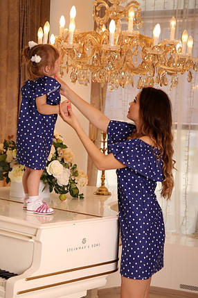 Принтованый наряд для мамы и дочки, фото 2