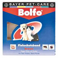 Ошейник от блох и клещей для собак и котов Больфо 35см Байер