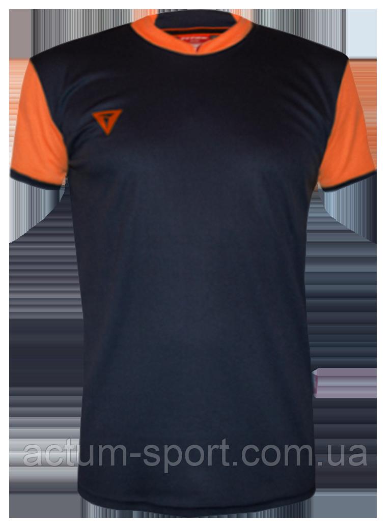 Футболка игровая Classic  Т.сине/оранж, XL