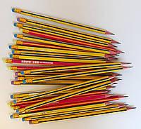 Карандаш Простой Rainbow HB  с ластиком трехуг. ZB-2320 ZIBI Китай