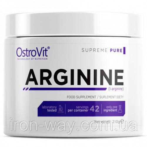 OstroVit Arginine 210 g (Лимон)