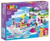 """Конструктор JDLT 5236 (Аналог Lego Duplo) """"Морская прогулка"""" 118 деталей"""