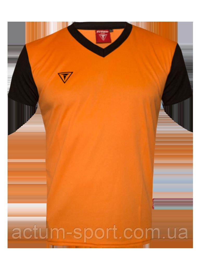 Футболка игровая Universal color Titar Оранжево/черный, XXL