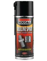 Герметизирующий и смазывающий аэрозоль Vaseline Spray Soudal 400 мл.