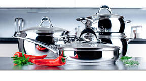 Наборы кухонной посуды, кастрюли, ковши и сотейники Vinzer