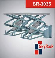 SkyRack SR-3035 Автомобильный ножничный электрогидравлический подъемник