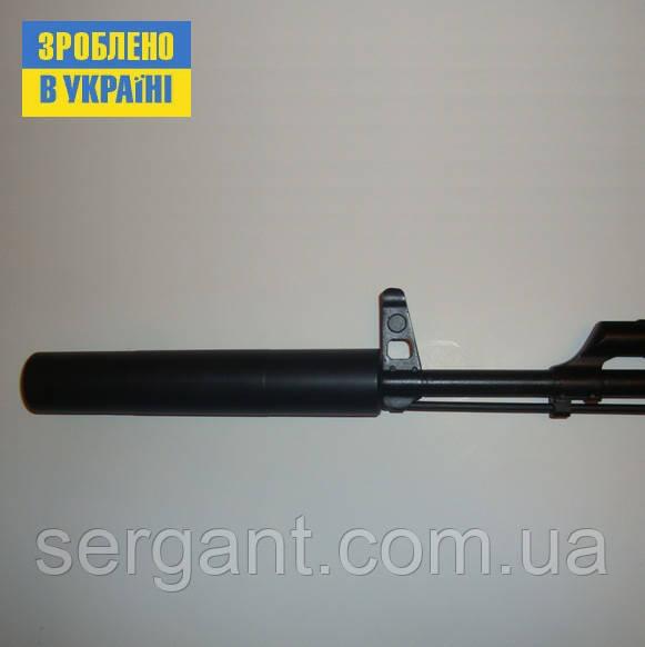 Глушитель 5.45 (резьба 24х1.5мм правая) для АК-74, АКС-74, АКС74У(АКСУ, АКСУ74), Вулкан-ТК.
