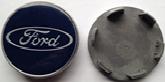 Комплект колпачков в колесные диски FORD 62мм/55,5мм