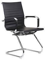 Офисный стул-кресло на колесиках черного цвета Classic black