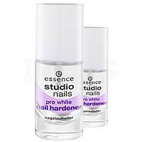 Essence средство для ногтей studio nails pro white hardener укрепление и отбеливание