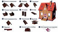Добірні елементи для покрівлі та фасаду