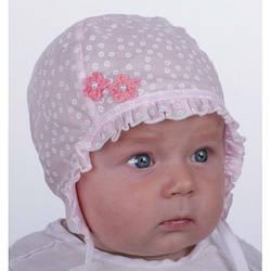 Хлопковая шапочка для новорождённого Pupill