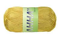 Пряжа Сеам Анна 16 Желтый