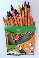 Восковые карандаши 12 цв. ZB.2481 ZIBI Китай