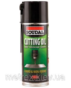 Охлаждающий аэрозоль Cutting Oil Soudal 400 мл.