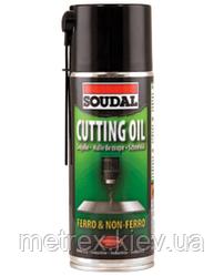 Охолоджуючий аерозоль Cutting Oil Soudal 400 мл.