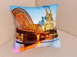 Подушки с фото мост