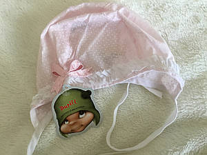 Шапочка для новорождённого Pupill с хлопка