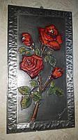 Оловянная картина Розы