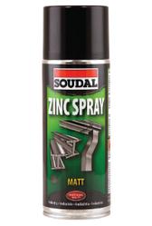 Антикорозійний аерозоль Zinc Spray Soudal 400 мл.