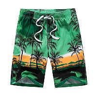 Пляжные мужские шорты большие размеры