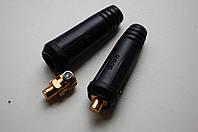 Штекер кабельний, зварювальний 10-25 (тато), фото 1