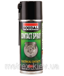 Аерозоль Contact Spray для догляду за електроприладами Soudal 400 мл.