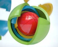 Головоломка шар-пазл (аналог Oblo)