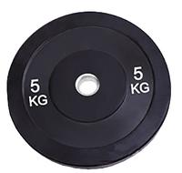 Бамперный диск 5 кг Rising Bamper Plate  для дома и спортзала