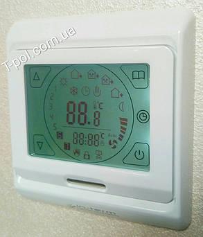 Терморегулятор  программируемый e-91 сенсорный, фото 2