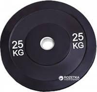 Бамперный диск 25 кг Rising Bamper Plate  для дома и спортзала