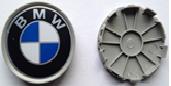 Комплект колпачков в колесные диски BMW 69 мм/ 67 мм