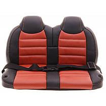 Детский электромобиль Mercedes SL65 красный c Планшетом или Без+ резиновые EVA колеса + Кожа сидение, фото 3