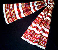 """Весільний тканий рушник з орнаментом""""Трембіта"""" 150*33см"""