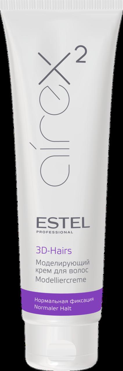 Моделирующий крем для волос 3D-Hairs Estel Airex эластичной фиксации