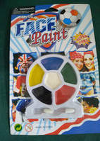 Краска лицо для грима 6 цветов