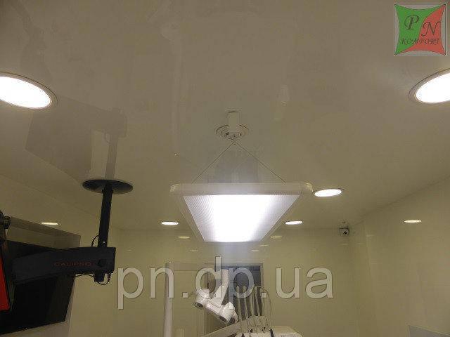 Натяжные потолки в стоматологии 14