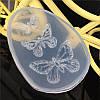 Молд форма бабочки  для 3 изделий, молд для смолы, глины, шоколада или карамели