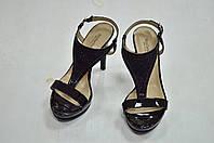 Черные босоножки на каблуке Nero Giardini к.-525