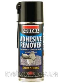 Аэрозоль Adhesive Remover для удаления клеев Soudal 400 мл.