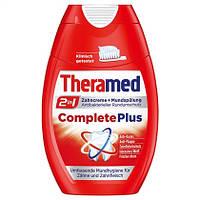 Theramed 2in1 Complete Plus Zahncreme + Mundspülung - Зубная паста + жидкость для полоскания рта 2в1