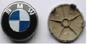 Комплект колпачков в колесные диски BMW 68 мм/ 66 мм