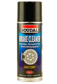 Аэрозоль Brake Cleaner для очистки тормозной системы Soudal 400 мл.